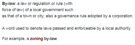 bylaw definition