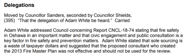 screenshot adam delegation minutes cncl