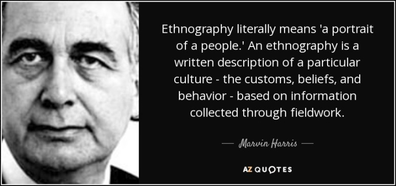ethnography quote
